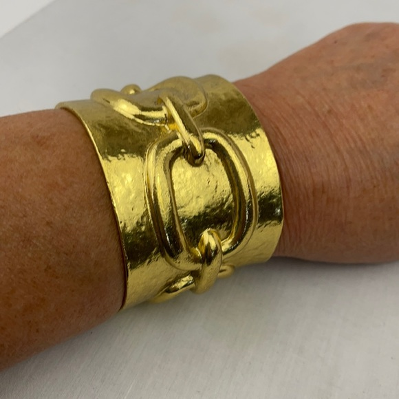 Fabulous Karen Sultan cuff bracelet!